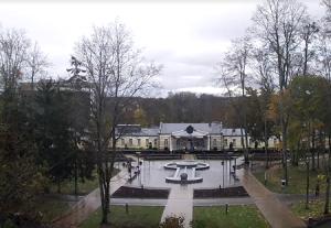 Музыкальный фонтан в Друскининкай в Литве
