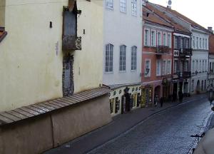 Улица Пилес в Вильнюсе в Литве