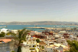 Панорама Танжера в Марокко