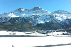 Деревня Сильваплана в Швейцарии