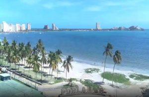 Пляж Белья Виста в Порламаре в Венесуэле