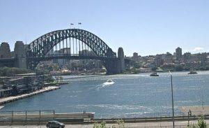 Мост Харбор-Бридж в Сиднее в Австралии