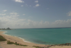 Пляж на острове Южный Бимини на Багамских Островах