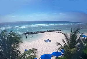 Пляж Саванна в Бриджтауне на острове Барбадос
