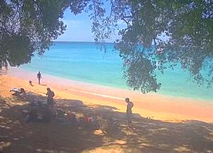 Пляж Гиббес Бич на Барбадосе