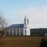Церковь Святых Петра и Павла в городе Гожа в Белоруссии