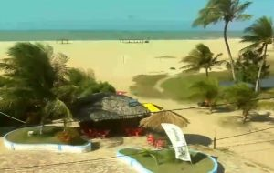 Пляж Кардейро в Сан-Мигел-ду-Гостозу в Бразилии
