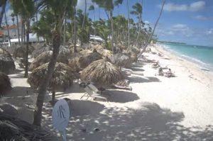 Пляж Баваро в Пунта-Кана в Доминикане