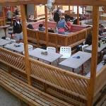 Кафе дайвинг-центра James Mac в Хургаде