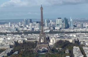 Марсово поле в Париже во Франции