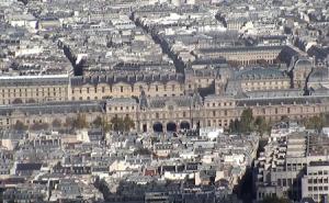 Музей Лувр в Париже во Франции