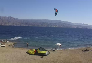 Пляж в Эйлате из магазина Kite X Eilat