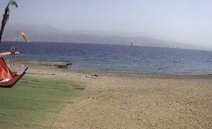 Залив Акаба Красного моря из Surf Center