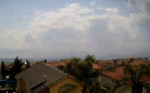 Панорама города Цфат в Израиле