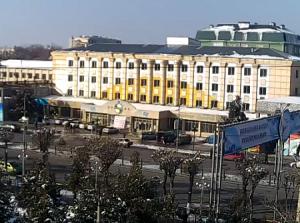 Гостиница Клара-Центр-Сапар в городе Шымкент