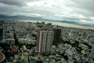 Панорама города Дананг