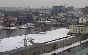 Набережная реки Свислочь в Минске