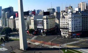 Площадь Республики в Буэнос-Айресе