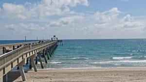 Рыболовный пирс Дирфилд-Бич во Флориде