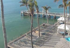 Пирс отеля Southernmost Beach Resort в Ки-Уэст во Флориде