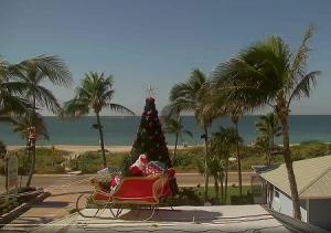 Побережье острова Каптива во Флориде из отеля Tween Waters Inn Island Resort
