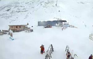 Подъемник К6 на горнолыжном курорте Большой Вудъявр