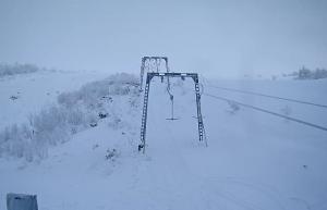 Подъемник K7 на горнолыжном курорте Большой Вудъявр