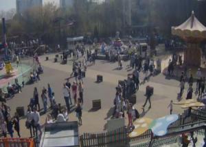 Парк Аттракционов в парке Сокольники в Москве
