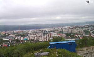 Панорама Мурманска в России