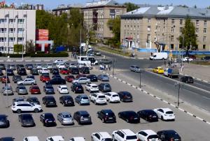 Улица Мира в городе Мытищи