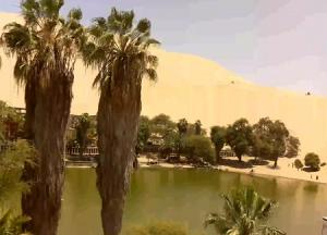 Оазис Уакачина в пустыни Перу
