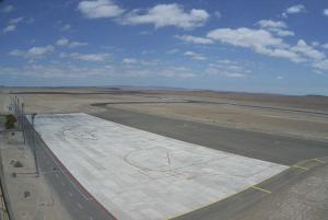 Аэропорт в городе Кальдера в Чили