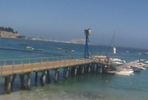 Яхт-клуб в Альгарробо в Чили