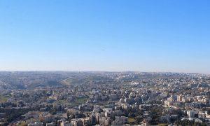 Панорама Аммана из отеля W Amman