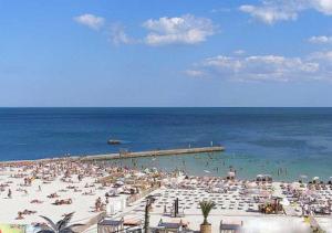 Пляж Чайка в Одессе на Украине