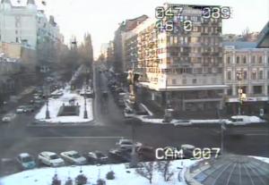 Бессарабская площадь в Киеве на Украине