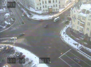 Площадь Славы в Киеве на Украине