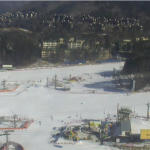 Трасса Yellow Slope на горнолыжном курорте Ёнпхён