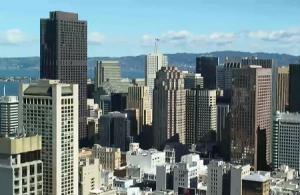 Панорама Сан-Франциско в штате Калифорния
