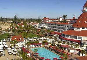 Отель Дель Коронадо на острове Коронадо в Калифорнии