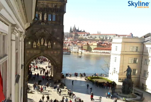 Староместская башня Карлова моста в Праге