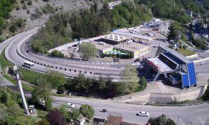 Начало Батумского шоссе в Сочи
