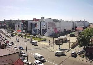 Улица Донская и ТРЦ Моремолл в Сочи