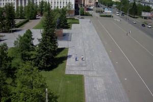 Площадь Советов в Барнауле