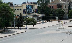 """Кинотеатр """"Ракета"""" в Евпатории в Крыму"""