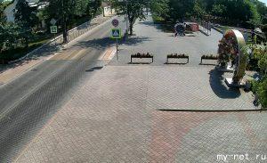 Сквер имени Ленина в Евпатории