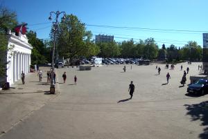 Графская пристань на площади Нахимова в Севастополе