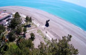 Мыс Пицунда в Абхазии