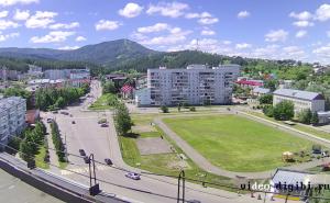 """Стадион """"Центральный"""" в Белокурихе на Алтае"""