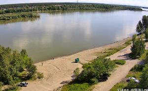 Центральный городской пляж Бийска